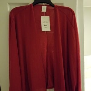 Jackets & Blazers - Red Cover Shrug